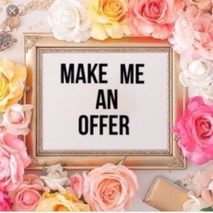 Other - I accept just about all offers!